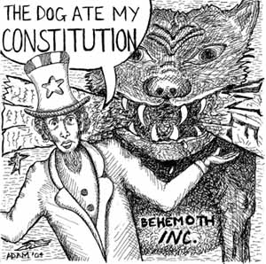 The Dog Ate My Constitution